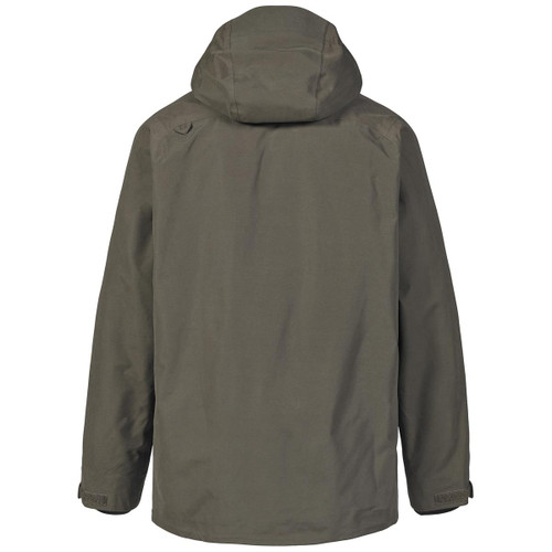 Rifle Green Musto Mens HTX Keepers Jacket Back