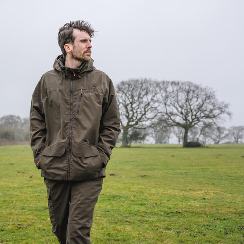 Rifle Green Musto Mens HTX Keepers Jacket Lifestyle