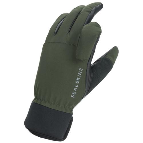 Olive/Black Sealskinz Waterproof All Weather Shooting Gloves