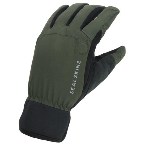 Olive/Black Sealskinz Waterproof All Weather Sporting Glove