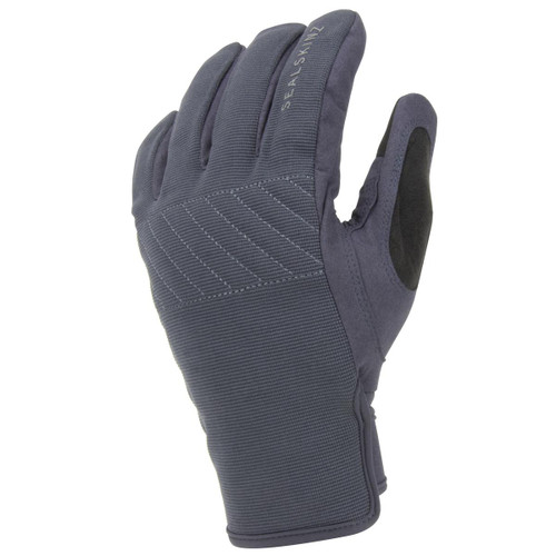Grey/Black Sealskinz Waterproof Multi Activity Glove With Fusion Control