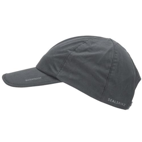 Black/Grey Sealskinz Waterproof All Weather Cap