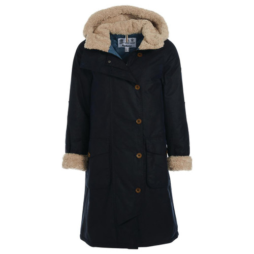 Royal Navy Barbour Womens Peregrine Wax Jacket