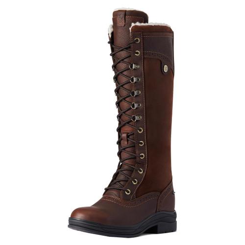 Dark Brown Ariat Wythburn Tall H2O Boots
