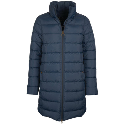 Navy Barbour Womens Filwood Quilted Jacket