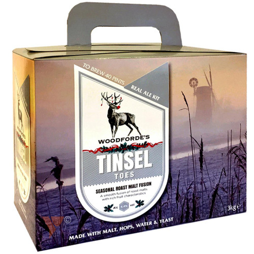 Youngs Woodfordes Tinsel Toes 40 Pint Beer Kit