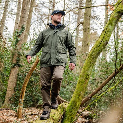 Deep Green Musto Mens Fenland 2.0 Jacket Lifestyle