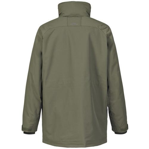 Deep Green Musto Mens Fenland Primaloft Jacket Back