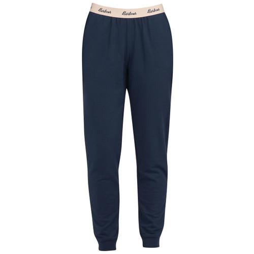 Navy Barbour Womens Lottie Lounge Trousers