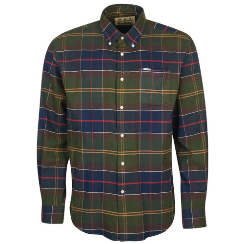 Classic Tartan Barbour Mens Hogside Regular Shirt