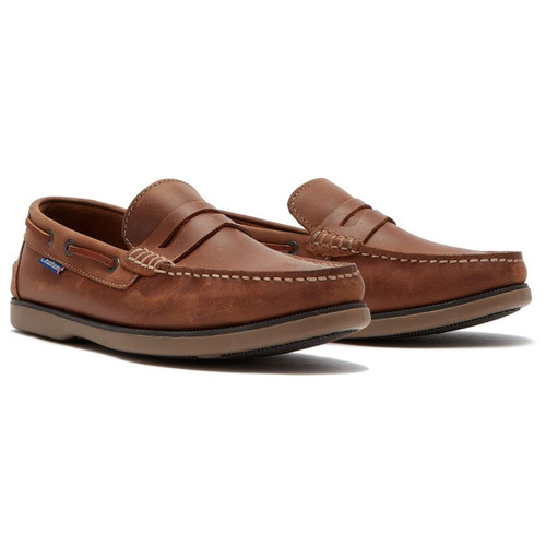 Tan Chatham Mens Shanklin Loafers