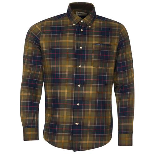 Classic Tartan Barbour Mens Fortrose Tailored Shirt