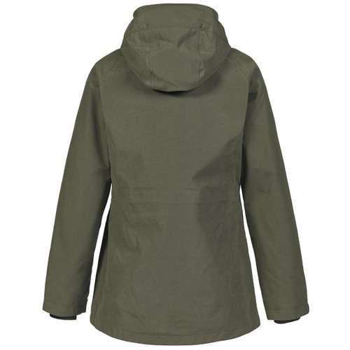 Rear View Deep Green Musto Womens Burnham Jacket