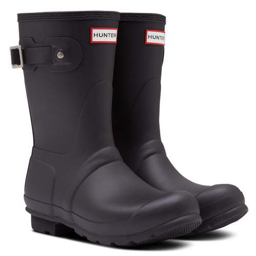 Black Hunter Womens Original Insulated Short Boots