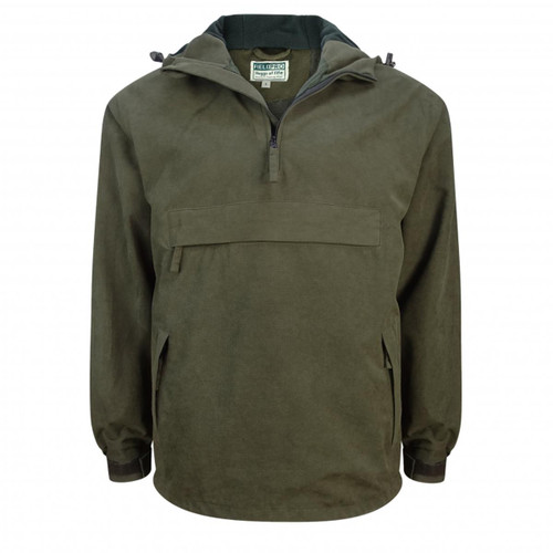 Dark Green Hoggs Of Fife Mens Struther Smock Field Jacket
