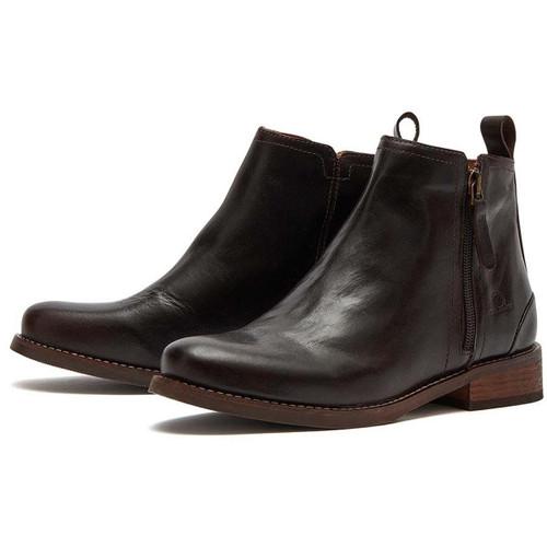 Dark Brown Chatham Womens Beatrix Zip Boot