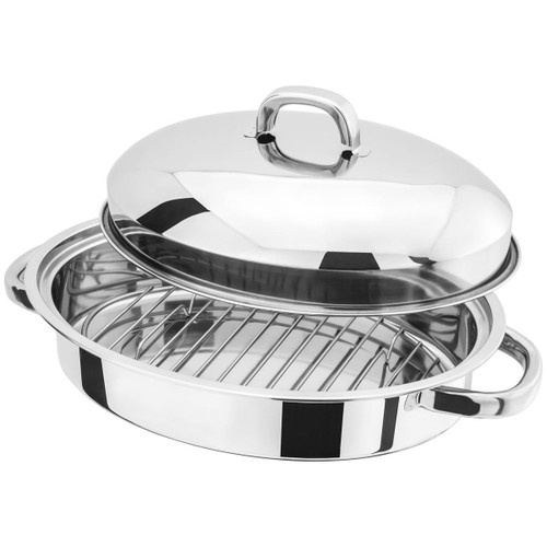 Judge Speciality Cookware Oval Roaster With Rack H017