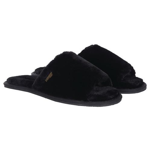 Black Barbour International Womens Spada Slippers