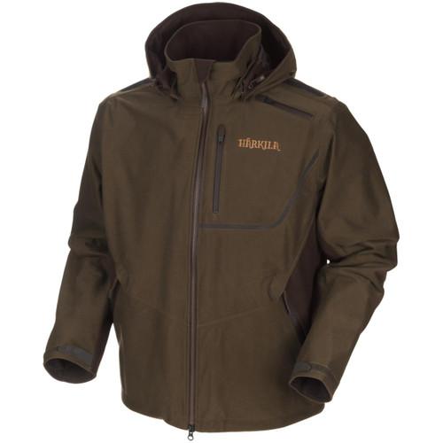 Hunting Green/Shadow Brown Harkila Mens Mountain Hunter Jacket