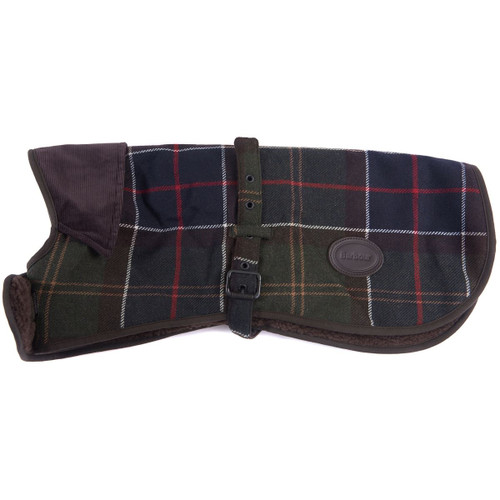 Classic Tartan Barbour Wool Touch Dog Coat