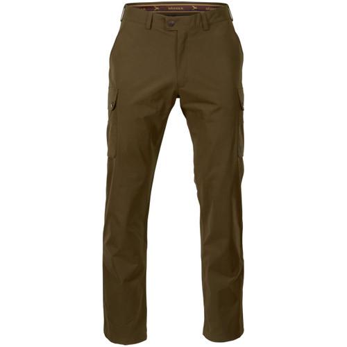 Warm Olive Harkila Mens Retrieve Trousers