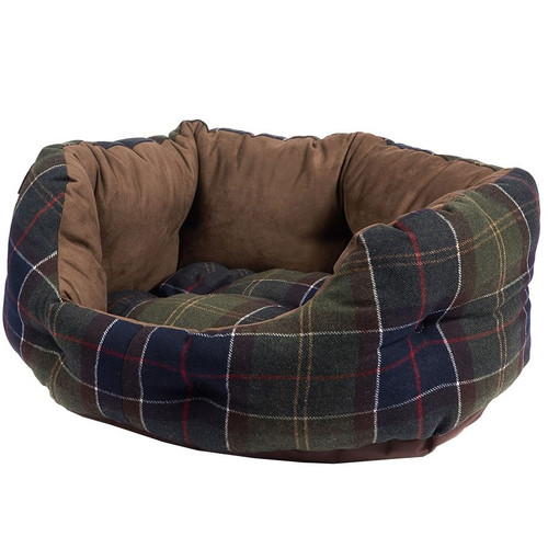 Classic Tartan Barbour Luxury Dog Bed