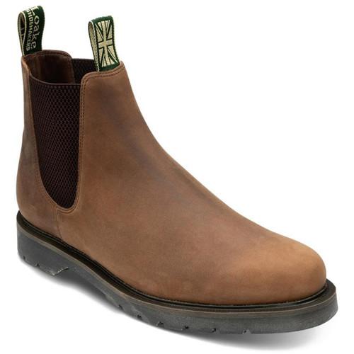 Brown Oiled Nubuck Loake Mens McCauley Boots