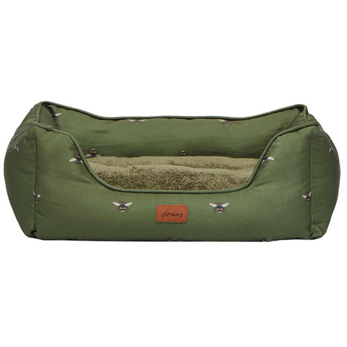 Joules Bee Print Dog Bed