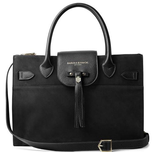 Black Fairfax & Favor Womens Windsor Work Bag