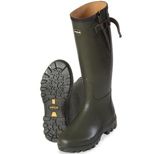 Olive Arxus Unisex Pioneer Wellington Boot