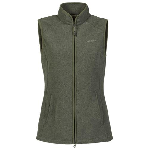 Deep Green Musto Womens Fenland Polartec Waistcoat