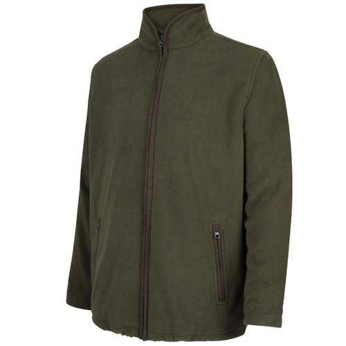 Green Hoggs Of Fife Mens Woodhall Fleece Jacket