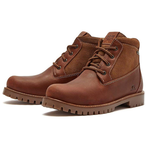 Tan Chatham Womens Montacute Waterproof Ankle Boots