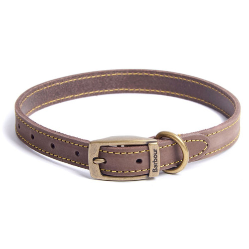 Barbour Leather Dog Collar