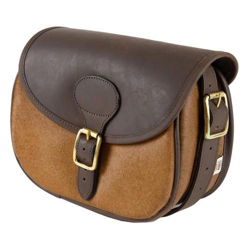Teales Cow Hide & Leather Cartridge Bag
