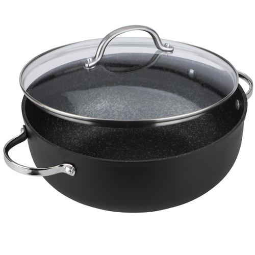 Prestige Scratch Guard Chef Casserole Pan With Lid