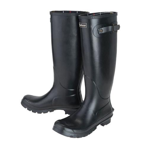 Black Barbour Womens Bede Wellington Boots