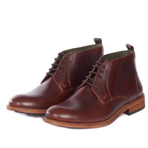 Mahogany Barbour Benwell Chukka Boot