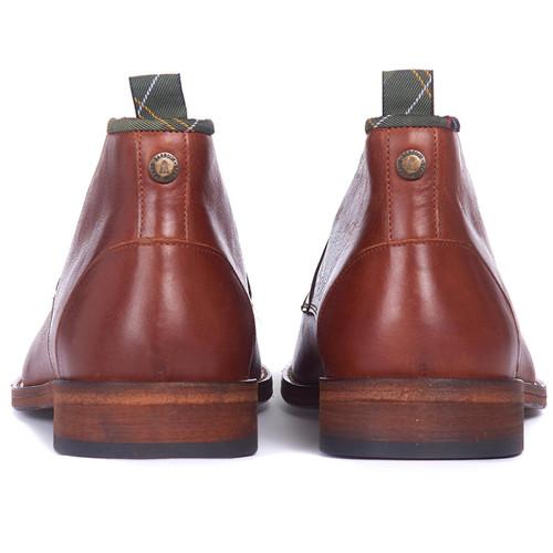 Tan Barbour Benwell Chukka Boot Back