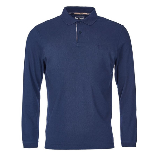 Barbour Mens Long Sleeve Sports Polo