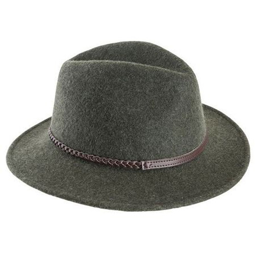 Olive Barbour Womens Tack Fedora