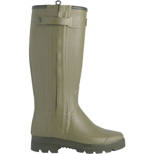 Le Chameau Mens Chasseurnord Wellington Boots - Side View
