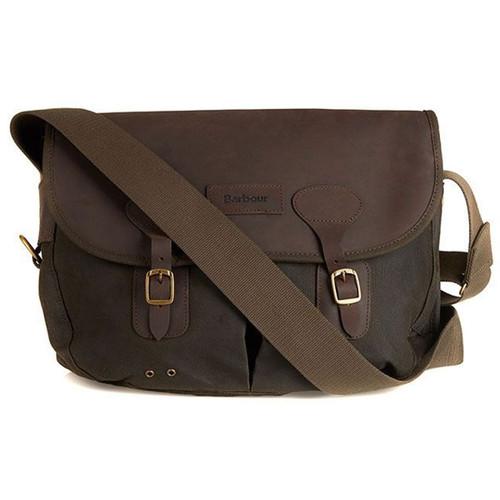Barbour Unisex Wax Leather Tarras Bag