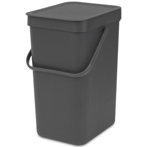 Grey Brabantia Sort & Go Waste Bin 12 Litre