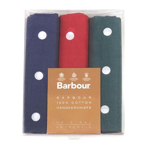 Barbour Polka Dot Boxed Set Hankies