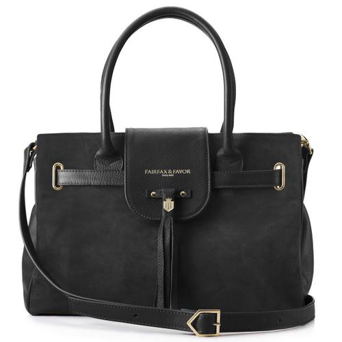 Black Fairfax & Favor Womens Windsor Handbag