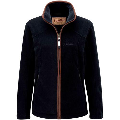 Navy Schoffel Womens Burley Fleece Jacket