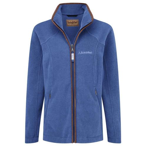 Cobalt Blue Schoffel Womens Burley Fleece Jacket