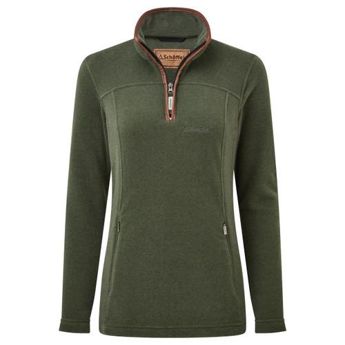 Cedar Green Schoffel Womens Tilton 1/4 Zip Fleece