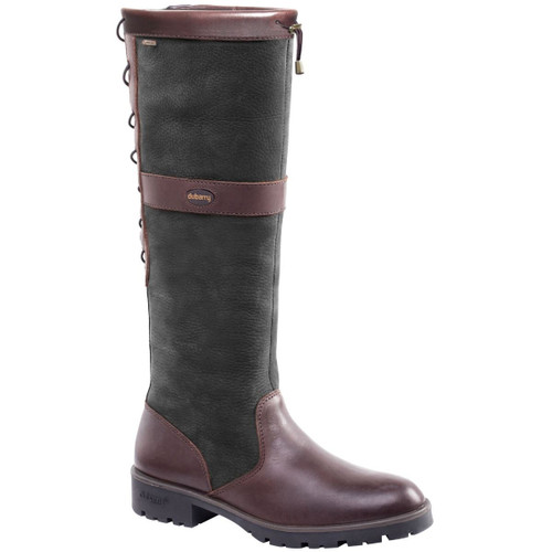 Dubarry Glanmire Boots in Black / Brown